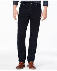 Michael Kors | Gray Tailored-fit Corduroy Pants for Men | Lyst