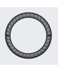 Vojd Studios | Black Chevron Neckpiece | Lyst