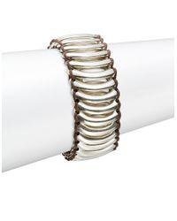 Uno De 50 - Metallic Space Crash Bracelet - Lyst
