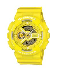 G-Shock | Yellow Ana-digi Watch for Men | Lyst