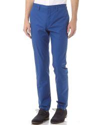 Marc By Marc Jacobs | Blue Harvey Twill Suit Pants for Men | Lyst