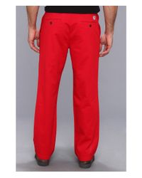 Dockers - Red Game Day Khaki D3 Classic Fit Flat Front Pant for Men - Lyst