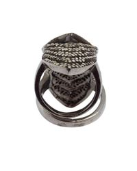 Amrapali - Metallic Diamond And Gold 'Color Stone' Knuckle Ring - Lyst