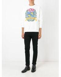 Faith Connexion - White Printed Sweatshirt for Men - Lyst