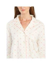 Ralph Lauren   Floral-plaid Cotton Pajama Set   Lyst