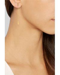 Jennifer Meyer - Metallic 18-Karat Gold Drop Earrings - Lyst