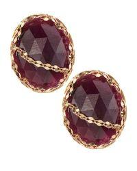 Lana Jewelry | Spellbound Pink Sapphire Stud Earrings | Lyst