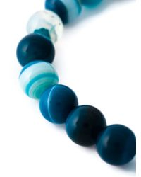 Fefe | Blue Stone Bead Bracelet | Lyst