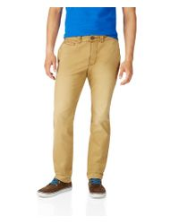 Aéropostale | Natural Slim Straight Color Wash Chinos for Men | Lyst