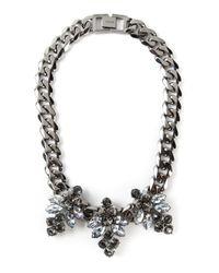 Mawi - Metallic 'Triple Firelfy' Necklace - Lyst