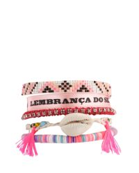 Hipanema | Pink Love Friendship Bracelet | Lyst