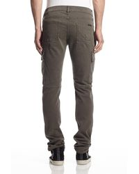 Hudson Jeans - Gray Greyson Cargo Biker for Men - Lyst