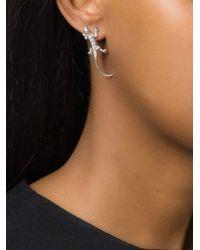 Wouters & Hendrix | Metallic Salamander Diamond Earring | Lyst