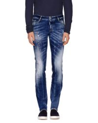 DSquared² | Blue Denim Pants for Men | Lyst