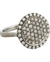 Roberto Marroni | White Diamond Three-Face Ring | Lyst
