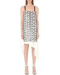 3.1 Phillip Lim - White Bohemian Sequin-embellished Silk Dress - Lyst