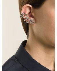 Ca&Lou   Metallic 'anne' Cuff Earring   Lyst