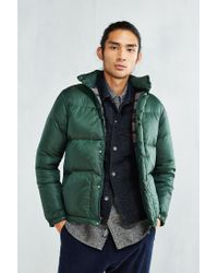 Manastash | Green Marty Down Jacket for Men | Lyst