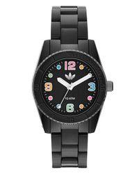 Adidas Originals - Black 'brisbane' Bracelet Watch - Lyst