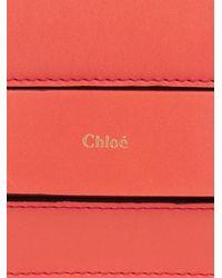 Chloé - Pink Elle Medium Leather Shoulder Bag - Lyst