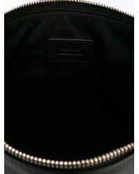 Jil Sander | Black Zipped Clutch | Lyst