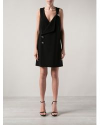 Christopher Kane | Black Diamond Button Pinafore | Lyst