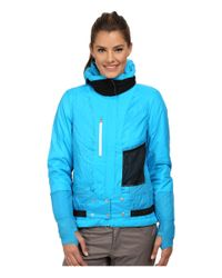 Spyder - Blue Tresh Jacket - Lyst