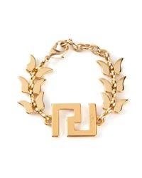 Malibu 1992 | Metallic Geometric Detail Bracelet | Lyst