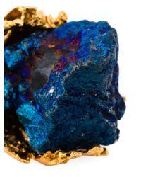 Alighieri | Metallic Onyx Ring | Lyst