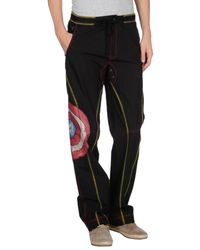 4 Four Messagerie - Black Casual Trouser for Men - Lyst