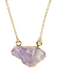 First People First - Purple Necklace - Lyst
