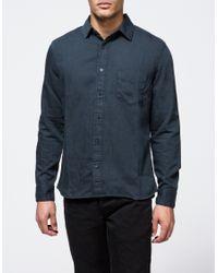 Cheap Monday - Black Air Denim Shirt for Men - Lyst