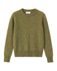 Toast | Green Shetland Slim Sweater | Lyst