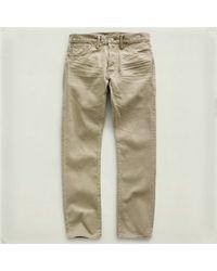 RRL - Natural Slimfit Jean for Men - Lyst