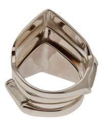 Vivienne Westwood - Metallic Knuckleduster Ring - Lyst