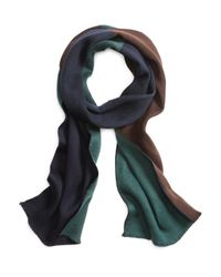 Brooks Brothers | Brown Color-block Scarf for Men | Lyst