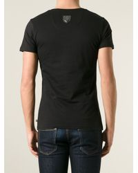Philipp Plein - Black Essential T-Shirt for Men - Lyst