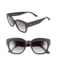 TOMS - Black 'audrina' 56mm Retro Sunglasses - Lyst