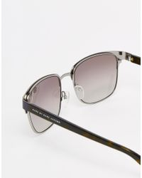 Marc By Marc Jacobs | Gray Square Sunglasses | Lyst
