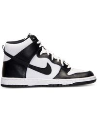 Nike | White Women'S Dunk High Skinny Casual Sneakers From Finish Line | Lyst