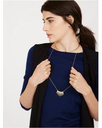 BaubleBar - Metallic Helios Layered Necklace - Lyst