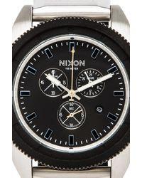Nixon - The Rover Chrono in Black for Men - Lyst