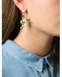Shaun Leane | Metallic Cherry Blossom Topaz Earrings | Lyst