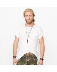 Denim & Supply Ralph Lauren | White Short-sleeved Pocket T-shirt for Men | Lyst
