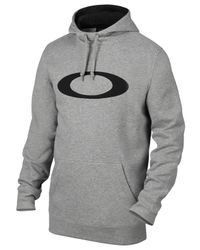 Oakley | Gray Dwr Cotton Blend Sweatshirt for Men | Lyst