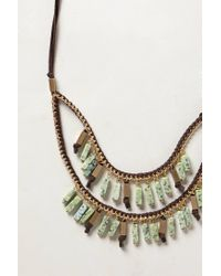 Anthropologie | Blue Lagoon Necklace | Lyst