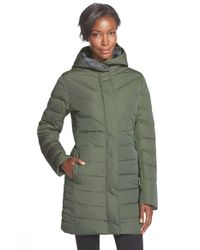 Helly Hansen - Green 'saga' Down Water Repellent Parka - Lyst