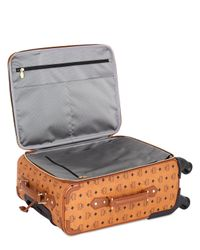 MCM | Brown Small Coated Canvas Cabin Trolley | Lyst