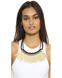 Fiona Paxton | Natural Freja Necklace - Cream | Lyst