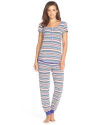 Kensie | Multicolor Print Jersey Pajamas | Lyst
